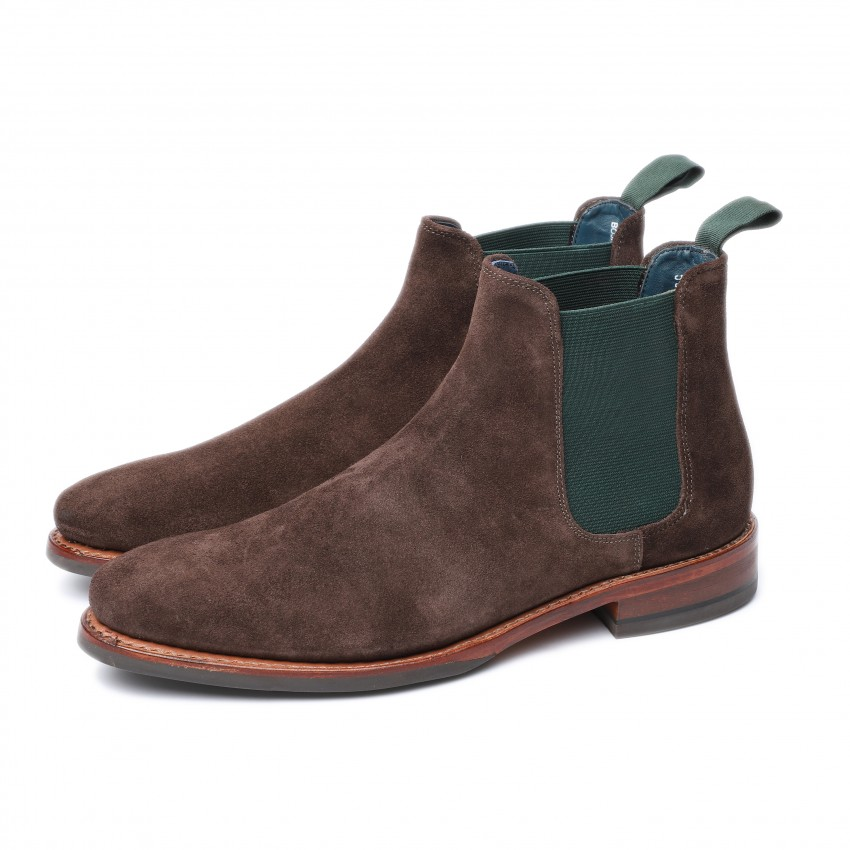 BOJAN 5926 J suede BROWN