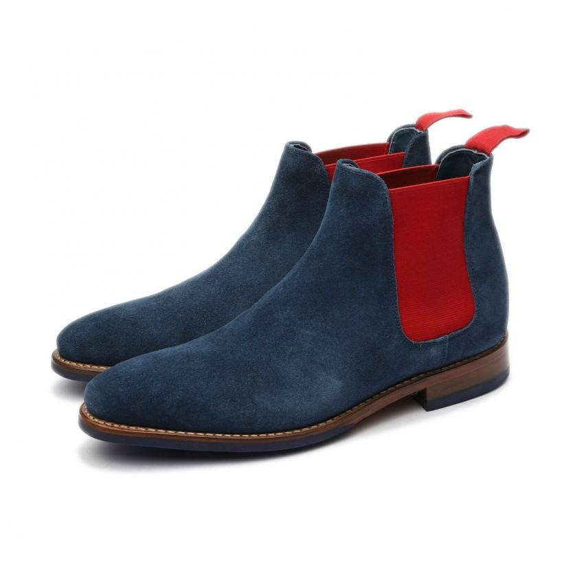 BOJAN PLAIN 5926 G NAVY RED