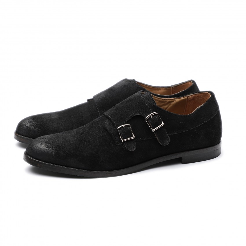 CROCKET A151644 cow suede black